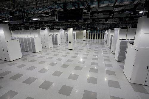 Data Center Room Floor Tile Cutouts : Taking greener approach to a data center