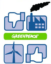 The image for Greenpeace